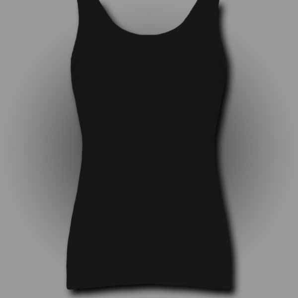 Black Ladies Tank Top