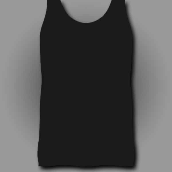 Black Men's Tank Top