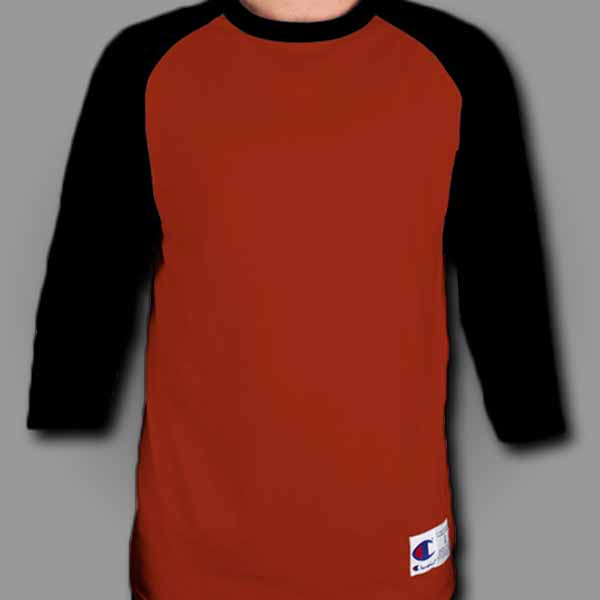 Red/Black Raglan