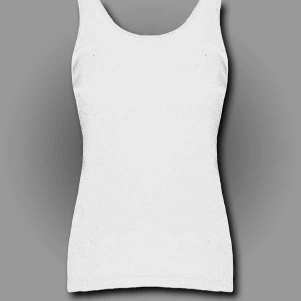 White Ladies Tank Top
