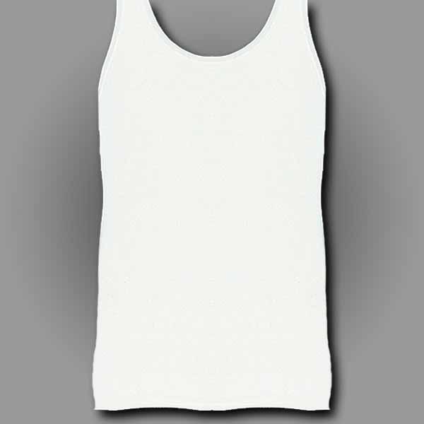 White Men's Tank Top